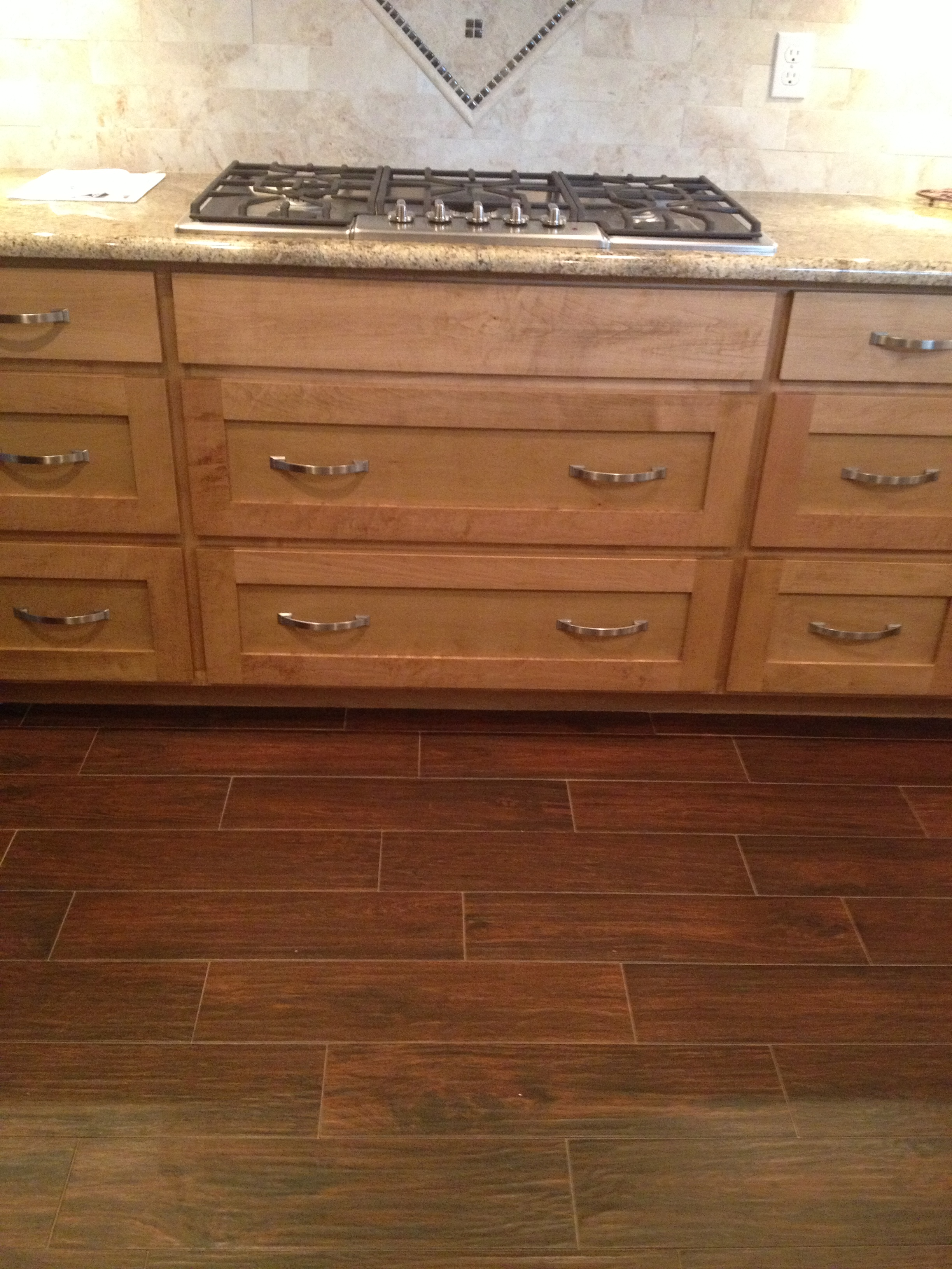 Wood Plank Tile Flooring