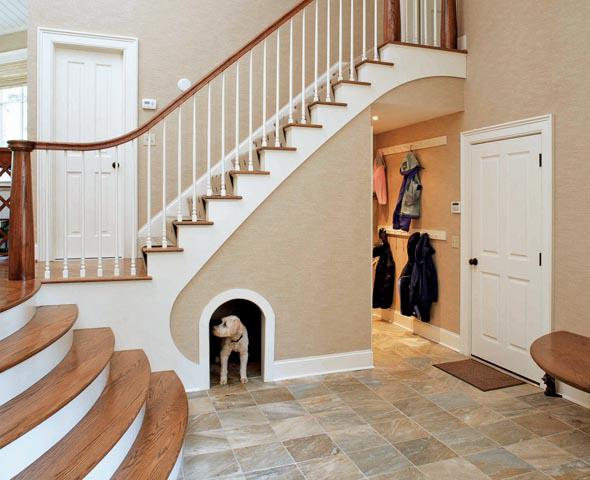 dog bed stairs plans